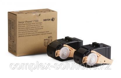 Тонер картридж XEROX 7100 Magenta (2x4.5k)   Код: 106R02610   [оригинал]