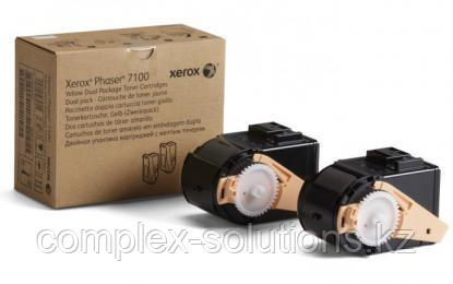 Тонер картридж XEROX 7100 Black (2x4.5k) | Код: 106R02612 | [оригинал]