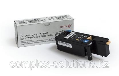 Принт картридж XEROX 6020/6022/6025/6027 Cyan (1k) | Код: 106R02760 | [оригинал]