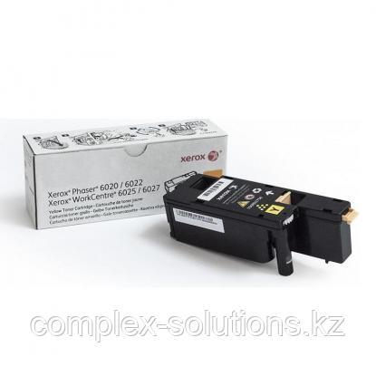 Принт картридж XEROX 6020/6022/6025/6027 Yellow (1k) | Код: 106R02762 | [оригинал]
