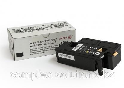 Принт картридж XEROX 6020/6022/6025/6027 Black (2k)   Код: 106R02763   [оригинал]