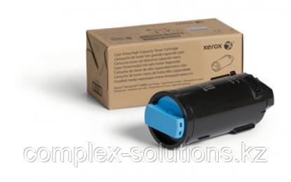 Тонер картридж XEROX C600 Cyan (16.8k)   Код: 106R03924   [оригинал]