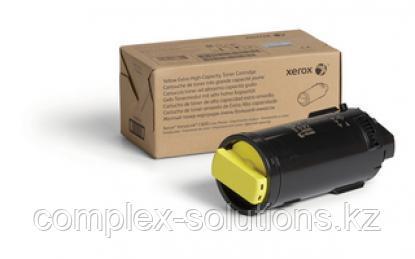Тонер картридж XEROX C600 Yellow (16.8k) | Код: 106R03926 | [оригинал]
