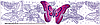 Сменный роликовый штамп Джамбо (JUMBO) - BUTTERFLY DREAM (мечта бабочки)