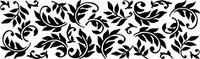 Сменный роликовый штамп Джамбо (JUMBO) - LEAF NOUVEAU (лист нуво)