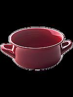 Чашка для супа с 2-умя ушками. 850 мл. Красная