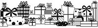 Сменный роликовый штамп Джамбо (JUMBO) - GIFTS GALORE (изобилие подарков)