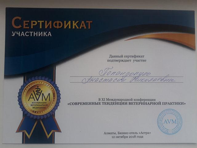 Попандопуло Анастасия Николаевна 1