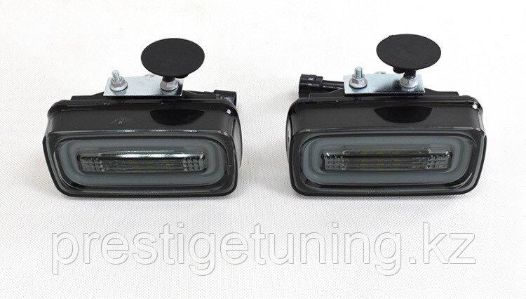 Задние фонари на Mercdes G-class стиль TRON