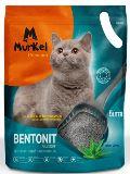 Murkel 5л Алоэ Вера (круглый) комкующийся туалетный наполнитель для кошек, 4кг