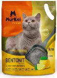 Murkel 5л Лимон (круглый) Комкующийся наполнитель для кошачьего туалета, 4кг