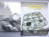 Фольга для газовой плиты 4 конфорки 50×60см., фото 2