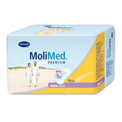 Прокладки урологические женские MoliMed Premium maxi 14 штук, фото 2