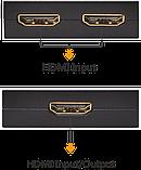 Переключатель (switch) Bi-Directional HDMI 2,0   3D 4K, фото 2