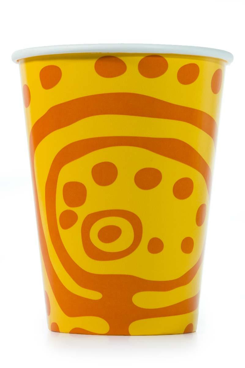 Бумажный стакан 350 мл для холодных напитков