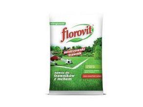 Минеральное удобрение для газонов с большим содержанием железа 10 кг  FLOROVIT