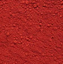 Пигмент красный, коричневый порошковый