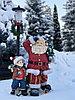 Новогодние фигуры Дед Мороз и гриб