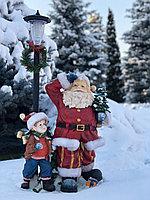 Новогодние фигуры Дед Мороз и гриб, фото 1