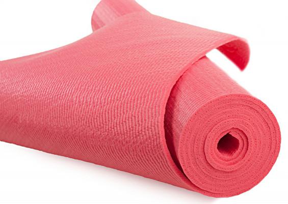 Коврик для йоги и фитнеса (йогамат) 3 мм - фото 2
