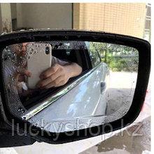 Защитная плёнка для зеркал и стекол автомобиля от воды и запотевания.