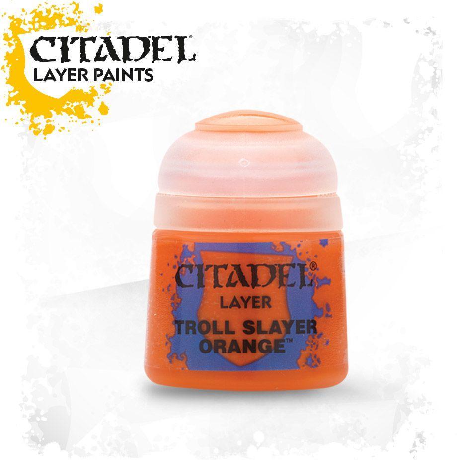 Баночка с краской: Оранжевый троллебой (Paint Pot: Troll Slayer Orange)