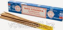 Благовония натуральные заводские Наг Чампа, Сатья Саи Баба, NAG CHAMPA, 15 гр