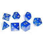 Набор кубиков STUFF PRO для ролевых игр. Синие, фото 3