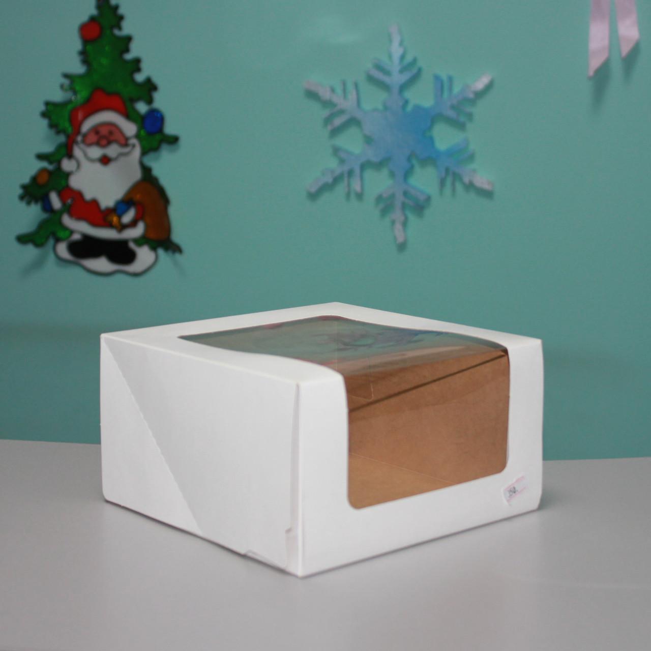 Коробка для десертов (22х22х11 см)