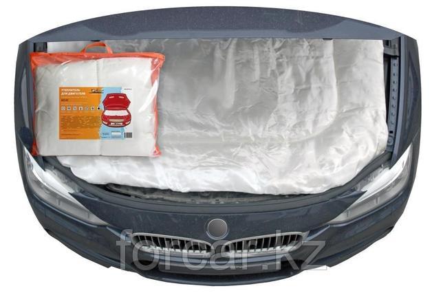 Утеплитель для двигателя, стеклоткань, цвет белый,140*90см, фото 2