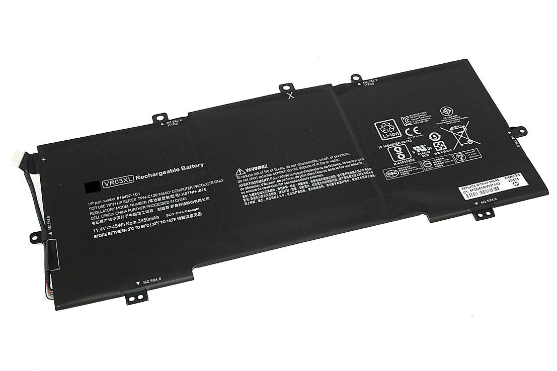 Аккумулятор для ноутбука HP ENVY 13-D, VR03XL (11.4V, 3830 mAh) Original