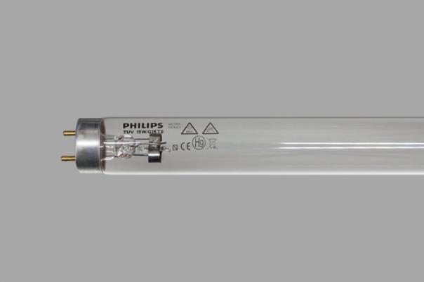 Лампа бактерицидная TUV-15W G13 Philips - фото 1