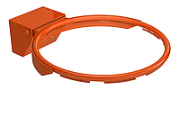 Баскетбольное кольцо на оргстекло, фото 1