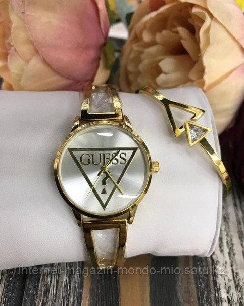 Набор GUESS часы и браслет