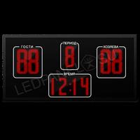 Табло электронное 160х112 (внеш 165х117) красн с ПО