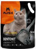 Murkel 5л Уголь (круглый) Комкующийся наполнитель для кошачьего туалета, 4кг