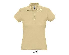 Рубашка поло женская | PASSION | Sols | Sand