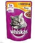 Whiskas рагу с телятиной 80 гр