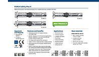 Анкер для высоких нагрузок R-SPL-II-P Анкер SafetyPlus II с гайкой и шпилькой (Великобритания)