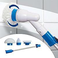 Универсальная щетка для уборки Spin Scrubber с насадками, фото 1