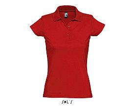 Рубашка поло женская | Prescott Women | Sols | Red