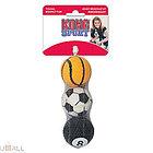 """KONG игрушка для собак Air Sport """"Теннисный мяч""""  очень маленький (в упаковке 3 шт) 4 см без пищалки"""