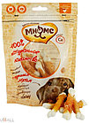 Мнямс лакомство для собак кальцинированные  косточки с куринным мясом 100 г
