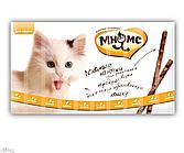 Мнямс лакомые палочки 13,5 см для кошек с  цыпленком и печенью 10х5 г