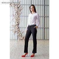 Брюки женские 5741 цвет чёрный, р-р 42, рост 164 см