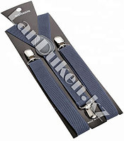 Подтяжки для брюк на вечеринку (темно-синий)