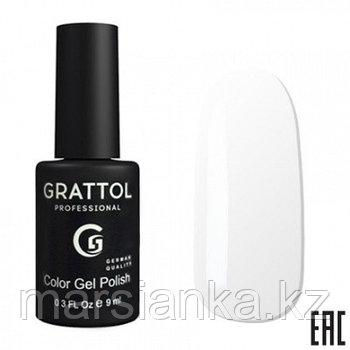 Гель лак Grattol 9мл 001. Производство Германия