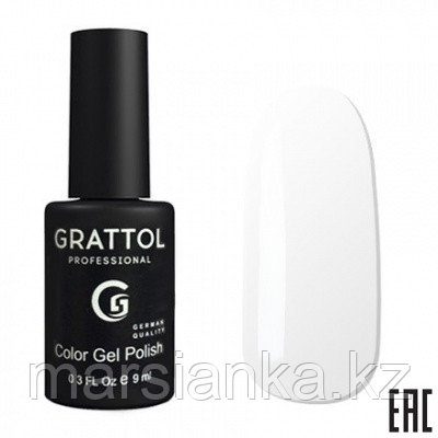 Гель лак Grattol 9мл 001. Производство Германия, фото 2