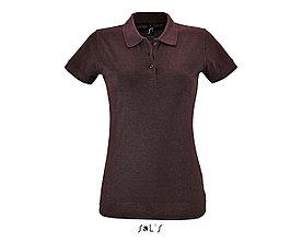 Рубашка поло женская | Perfect Woman | Sols | Heather oxblood