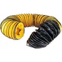 Возд. для подачи горячего воздуха 340 мм. 7.6 м. max t 150 °C. Желто-черный, для BV77, BV690, BLM 6800, габ. 4